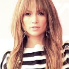Hairstyles for long hair with bangs 2020
