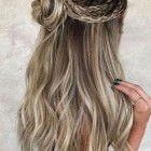 Hairstyles homecoming 2020