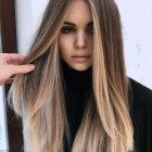 New hairstyle long hair 2020
