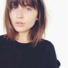 Short hairstyles 2020 with bangs