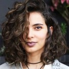 Styles for short curly hair 2020