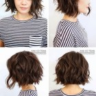 Upstyles for short hair 2020