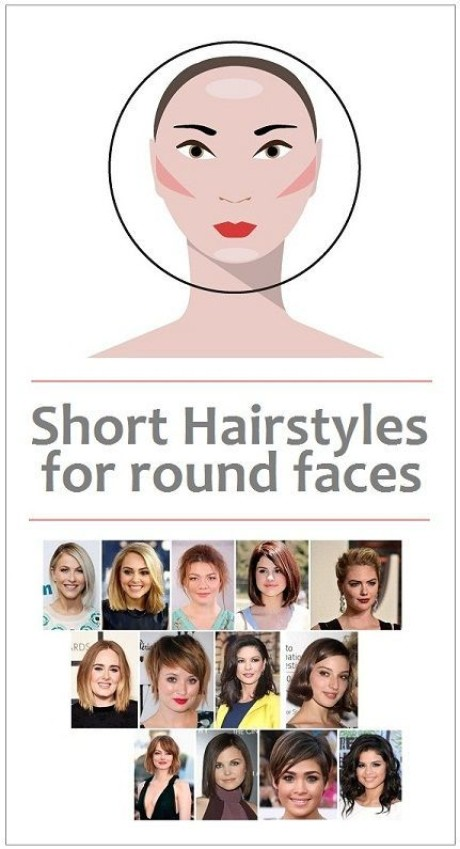 Very short hairstyles for round faces 2020
