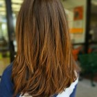 Layered hairstyles for long hair 2021