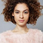 Short hairstyles for natural curly hair 2021