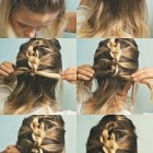Casual up hairstyles for medium hair