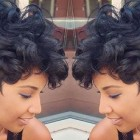 Cute short black hairstyles 2018