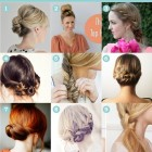 Easy upstyles to do yourself