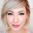 Good short haircuts for round faces