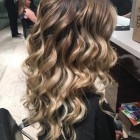 Hair curls for prom
