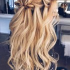 Hair from prom