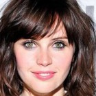 Hairstyles for ladies with round faces