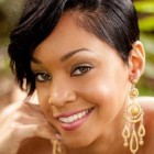 Latest short hairstyles for black ladies