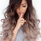 On trend hairstyles for long hair