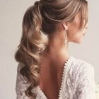 Prom hairstyles ponytail long hair