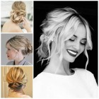 Quick up hairstyles for medium hair