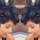 Short ebony hairstyles 2018