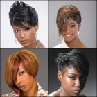 Short hairstyles for african american ladies
