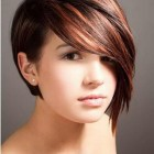 Short style haircuts for round faces