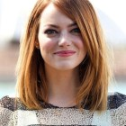 Shoulder one length hairstyles