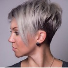 Stylish short hairstyles for round faces