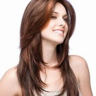 Suitable hairstyle for round face female