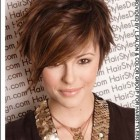 Female short hair cut
