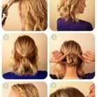 Hairdos for short to medium hair
