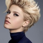 Short cut hair women