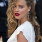 Celebrity evening hairstyles