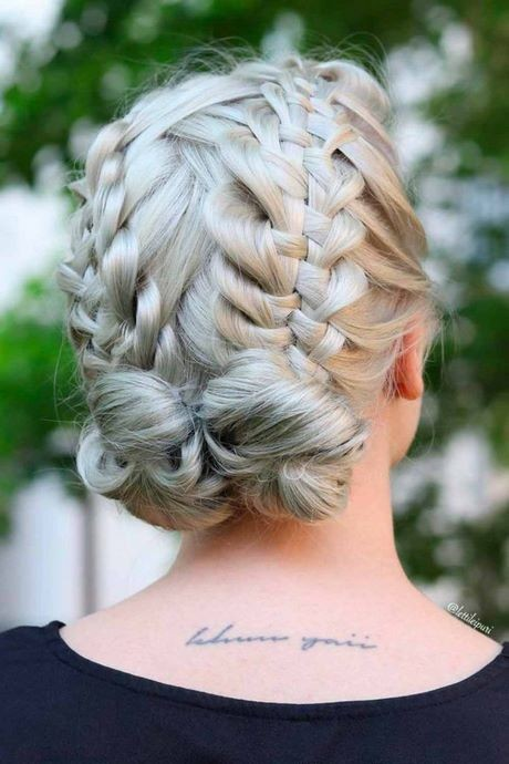 Different braid hairstyles for short hair