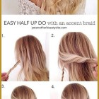 Easy down hairstyles