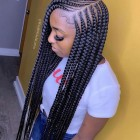 Hairstyles done with braids