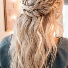 Half and half hairstyles