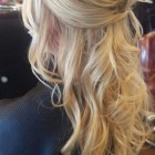 Half up and half down hairstyles for long hair