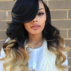 Long ombre weave hairstyles