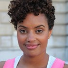 Pictures of short curly weaves