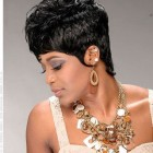 Pictures of short hair weaves