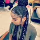 The latest braids hairstyles