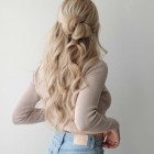 Up and down hairstyles for long hair