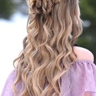 Up down hairstyles for prom