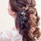Up down hairstyles wedding