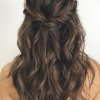 Updo half up hairstyles