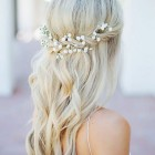 Wedding hairstyles half up and half down