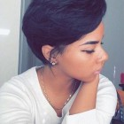 Black ladies short hairstyles
