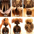 Cute long hair updos