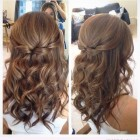 Down styles for mid length hair