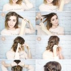 Easy hairstyles for short to medium length hair