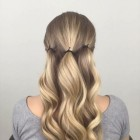Easy updos for long layered hair