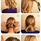 Easy updos for thick medium hair